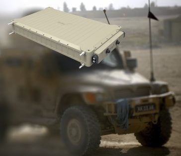 Hi-Voltage Battery for Military Vehicles
